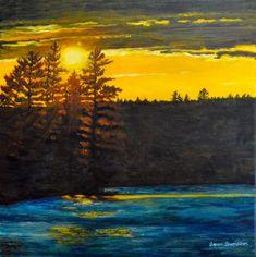 Northern Landscapes of Ontario Teresa Thompson Oakville Landscape Paintings, Landscapes, Canadian Nature, Algonquin Park, Two Rivers, Canoe, Fine Art Photography, Ontario, Pond