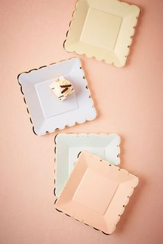 Patisserie Plates (8) from @BHLDN