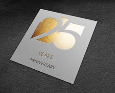 Logo 25th anniversary on Behance