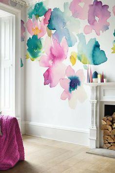 230 Best Floral Wallpaper Images In 2019 Designer Wallpaper