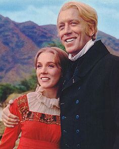 Julie Andrews and Max von Sydow in the 1966 film   Hawaii.