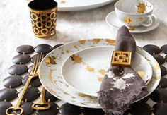 1948° 5 Piece Dinner Set - Modern Home Decor, Luxury Gifts & Mid Century Modern Furniture | Jonathan Adler
