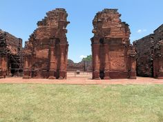 Jesuit Mission of the Guaranis: San Ignacio Mini, Argentina