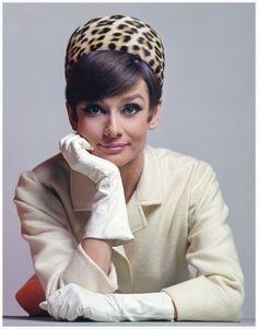 Audrey Hepburn photographed by David Wills and Stephen Schmidt, 1965.