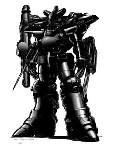 Rifts Shadow Boy Power Armor by ChuckWalton.deviantart.com on @deviantART