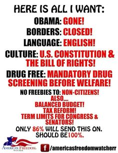 OBAMANATION, Totally reasonable