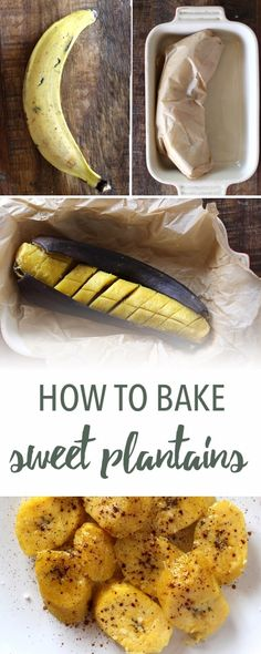 How to bake plantains | Empowered Sustenance