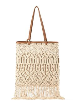 Office-Friendly Bags That Are Big Enough to Hold Your Laptop : Retire that free tote bag you got at a flea market. Macrame Colar, Macrame Bag, Laptop Tote Bag, Tote Bags, Best Laptops, Lollapalooza, Macrame Tutorial, Sporty Chic, Clutch