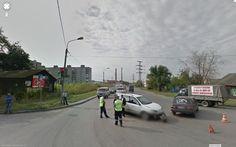 ул. Военный 17-й городок / ул. Красный Пахарь / ул. Северная 7-я, Omsk, Omsk Oblast, Russia