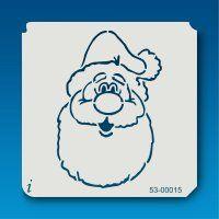 53-00015 Jolly Santa Face