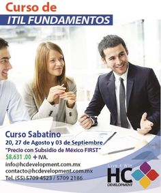 itil foundations  Curso con Certificación
