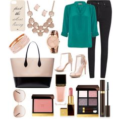 A fashion look from March 2015 featuring PYRUS blouses, Cheap Monday jeans and BCBGMAXAZRIA ankle booties. Browse and shop related looks.