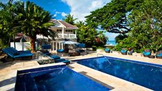 Rendezvous Hotel in St. Lucia, Malabar Beach. This looks totally heavenly!