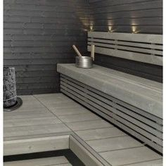 Sauna Shower, Sauna Design, Finnish Sauna, Sauna Room, Spa Rooms, Saunas, Bathroom Toilets, Home Spa, Bathroom Interior