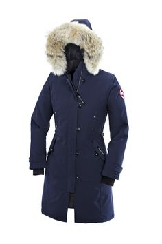 I just like this Canada Goose Kensington Parka Blue Womens