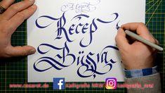 Kaligrafi alıştırmaları ve süsleme teknikleri - istekler 10 - Abdurrahma...