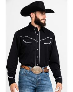 Roper Americana Collection Red, White and Blue Embroidered Skull Western Shirt, Black Rodeo Outfits, Cowboy Outfits, Country Outfits, Western Outfits, Western Shirts, Grunge Outfits, Western Vest, Western Dresses, Mexican Traditional Clothing