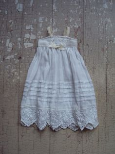 Trousseau collection - Vintage shift dress for Blythe dolls by moshimoshi studio