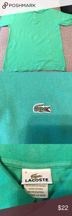 Lacoste polo Mint Lacoste polo Lacoste Shirts Polos