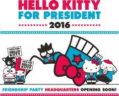 Hello Kitty For President | Sanrio