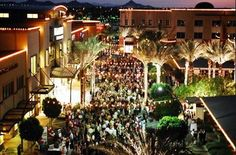Bright Lights, Big City Appeal  Urban and urbane, Kierland Commons draws people who know what they like, and that's a wealth of fabulous restaurants for every mood, sidewalk shops that are edgy and inspiring, and a big city flavor that delivers high energy to desert days and nights. It's where you want to go when you want to go out. Lit palms line dynamic streets where sports cars dazzle, fountains splash and sequins shimmer. http://www.kierlandcommons.com/ #visitscottsdaleaz