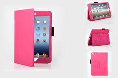 Donker Roze Stand Case voor Ipad Mini Retina