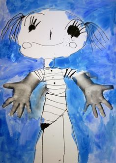 Já. Tuš, vodové barvy, xerox rukou. Studios, Snoopy, Fictional Characters, Fantasy Characters
