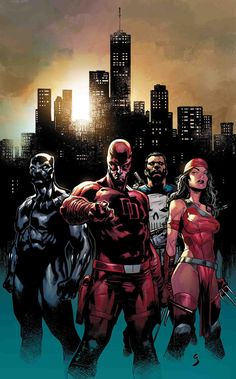 Did the heroes break the Marvel Universe as we know it? Daredevil, Punisher, Elektra, Hulk, and Black Panther will uncover the truth. Marvel Comic Character, Comic Book Characters, Marvel Characters, Comic Books Art, Comic Art, Book Art, Marvel Comics Art, Marvel Heroes, Marvel Avengers