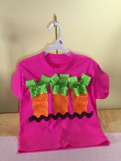 Easter shirt with carrots.. $12.95, via Etsy.