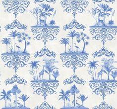 Cole & Son Folie Wallpaper Collection Rousseau in Cobalt Blue wallpaperdirect Charcoal Wallpaper, Pattern Wallpaper, Wallpaper Roll, Pink Wallpaper, Wall Coverings, Cole And Son Wallpaper, Wall Wallpaper, Blue Wallpapers, Rose Pink Wallpaper