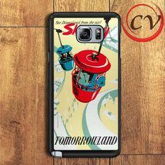 Skyway Tomorrowland Poster Samsung Galaxy Note 6 Case