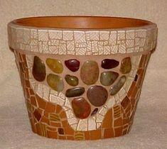mosaic flower pot                                                                                                                                                     More