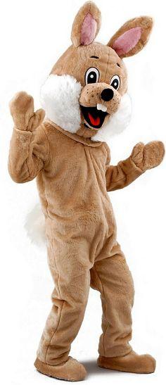 Wascally Rabbit Mascot Costume