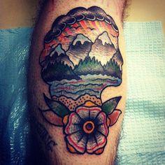 Impressive tattoos by David Côté