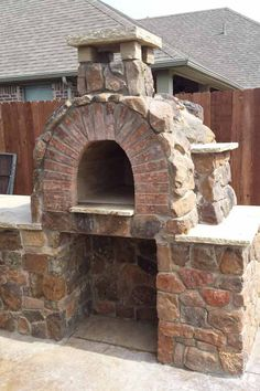 Pizza Oven - Hicks Family Wood Fired Pizza Oven by BrickWood Ovens Diy Pizza Oven, Pizza Oven Outdoor, Outdoor Cooking, Outdoor Bars, Pizza Ovens, Outdoor Kitchens, Outdoor Rooms, Outdoor Living, Wood Oven