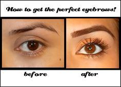 She's the best! How to get the perfect eyebrows, ( my opinion at least :) shade, and shape your eyebrows . I learned doing mine with this easy tutorial and it made a huge difference :-)