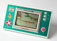 Nintendo Game and Watch: The first electronic game I ever got :-) I wish I still had this game to show JJ !