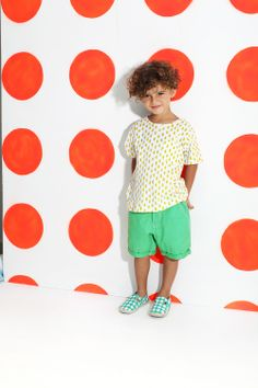 #kidsagogo #summer #pineapple #print #dots #espadrilles #children #kids #fashion #photoshoot  www.facebook.com/kidsagogo