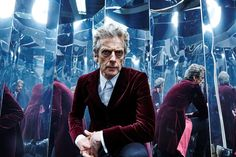 Doctor Who: The Magician's Apprentice pictures with Peter Capaldi and Jenna Coleman 13th Doctor, Twelfth Doctor, Peter Capaldi, Doctor Who Tumblr, Sci Fi Series, Fantasy Comics, Jenna Coleman, How To Run Faster, Favim