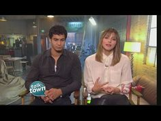 "Elyes Gabel & Katharine McPhee Star in New CBS Show ""Scorpion"" - YouTube"