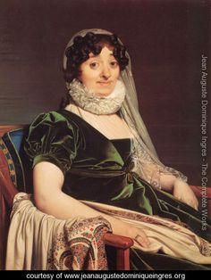 Comtes de Tournon, née Geneviève de Seytres Caumont by Jean Auguste Dominique Ingres