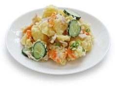 Potato Vegetable Salad with Yogurt