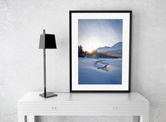 TITLE: In the depths of winter LOCATION: Fjordland | New Zealand MEDIUM: Fine art print  This calm and relaxing image was captured during a short winters day after a night spent in a cabin in the middle of the woods. Chilly awakening but grandiloquent view.   ABOUT All the pictures are taken by me and are sold as a physical product, printed and delivered without frame. The prints are not factory produced, but are made by the order on limited series. .... For best results I suggest you use a…