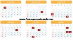 Kalender Pendidikan 2017/2018 Lengkap Hari Libur, Kalender Pendidikan 2017/2018 Jawa Barat, Kalender Pendidikan 2017/2018 Jawa Timur, Kaldik 2017/2018, USBN