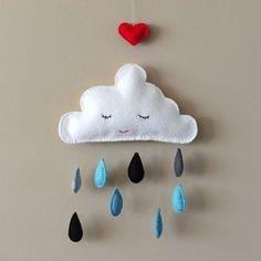 Decora con nubes diferentes ambientes en www.universopeque.com