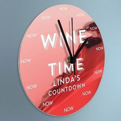 Happy hour clocks you can have personalized with your name and your beverage of choice.   39 Awesome Things You Never Knew You Needed For Your Kitchen