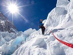 Conrad Anker @ the Khumbu Icefall, 10 Apr 2012.  photo Cory Richards