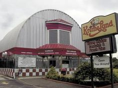 Kremeland ice cream shop and diner-style restaurant, with its curved roof and shiny walls, is a familiar landmark on state Route 21 in Navarre.