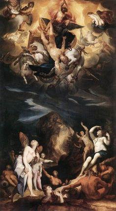 The Fall of Phaeton, 1596