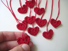 Tiny Hearts for Decorations Gift Tags by cornflowerbluestudio, $6.00